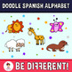 Doodle Time! - The Spanish Animal Alphabet Clipart