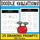 Doodle Variation Drawing Prompts