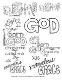 Doodle Verse: Galatians 1: 15