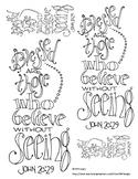Doodle Verse: John 20:29