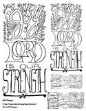 Doodle Verse: Nehemiah 8:10