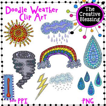 Doodle Weather Clip Art