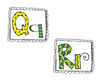 Doodle Word Wall Labels