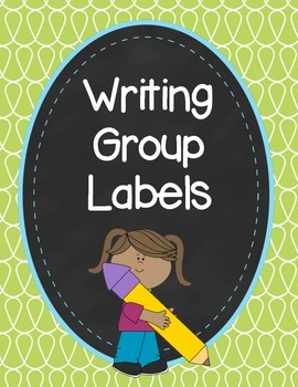 Doodle Writing Group Labels
