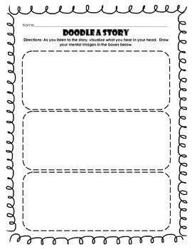 Doodle a Story: Visualization and Story Planning
