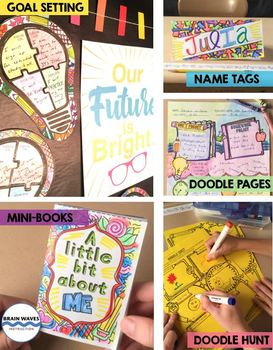 Doodle and Do Back to School Activities