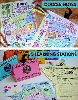Doodle and Do ELA Skills Bundle - 6 Units - Vocabulary, Writing, Reading