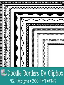 Doodle borders & frames (82 images)