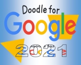 """Doodle for Google POSTER! 20"""" by 16"""""""