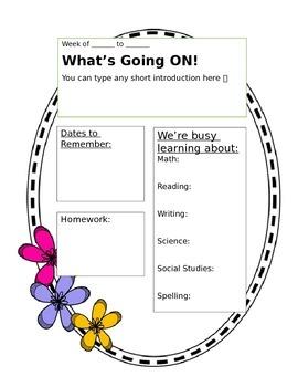 Doodle n' Floral Newsletter