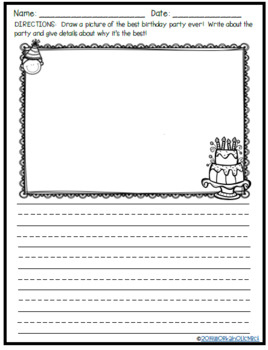 Write and Doodle - Writing Activities Your Students will Love