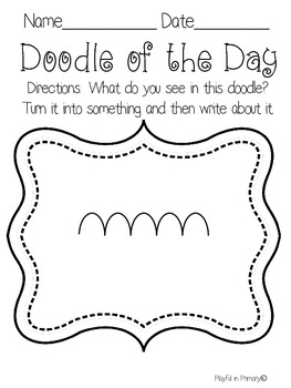 Doodle of the Day: Creative Writing