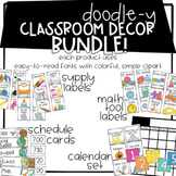 Doodle-y Classroom Decor BUNDLE