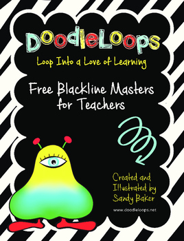 DoodleLoops Free Blackline Masters for Teachers