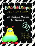DoodleLoops Free Blackline Masters for Teachers