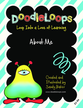 DoodleLoops About Me (2nd Edition, Book 4)