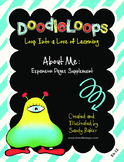 DoodleLoops About Me: Expansion Pages (2nd Edition, Book 12)