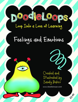 DoodleLoops Feelings and Emotions (2nd Edition, Book 5)