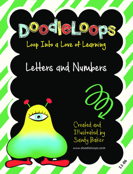 DoodleLoops Letters and Numbers (2nd Edition, Book 6)