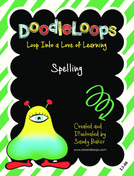 DoodleLoops Spelling (2nd Edition, Book 8)