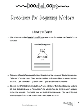 DoodleLoops Writing (2nd Edition, Book 3)