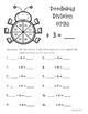 Doodlebug Division Spin!  Dividing by 3 Practice Activity/Worksheet/Center