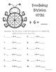 Doodlebug Division Spin!  Dividing by 6 Practice Activity/Worksheet/Center
