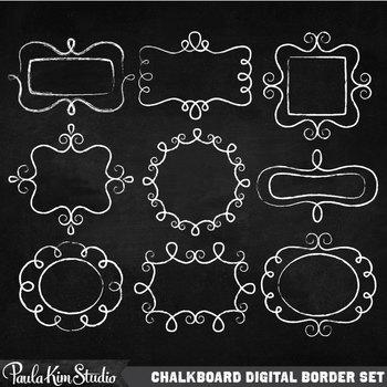 Borders - Chalk Doodles