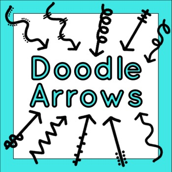 Doodles Arrows Clip Art