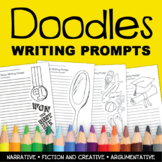 Doodles Creative Colorable Writing Prompts Book – Creative