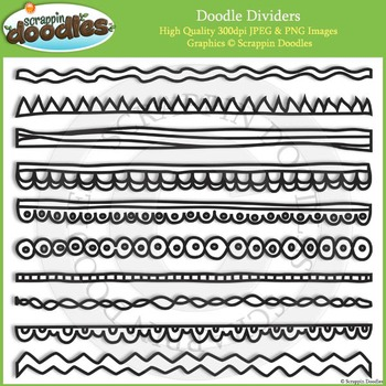 Doodles Dividers