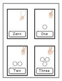 Doodles & Dots Black & White Number Words and Numeral Sort
