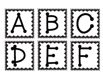 Doodles & Dots - Black & White Word Wall