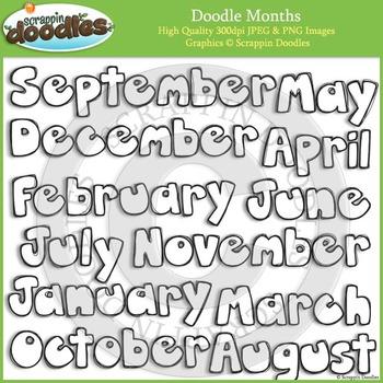 Doodles Months