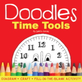 Doodles Time Tools Book - A Fun Way to Learn to Tell Time