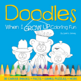 Doodles When I Grow Up Coloring Fun   Early Career Talk