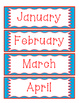 Doodles and Dots Red White and Blue Calendar Helpers
