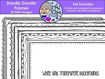 Doodly Doodle Frames