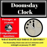 Doomsday Clock  Differentiated Reading Passage January 17