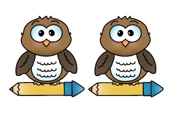 "Door Banner or Bulletin Board ""Kindergarten is a Hoot!"" Back to School"