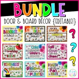 Door & Board Decor BUNDLE
