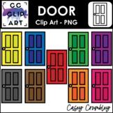Door Clip Art Color Images