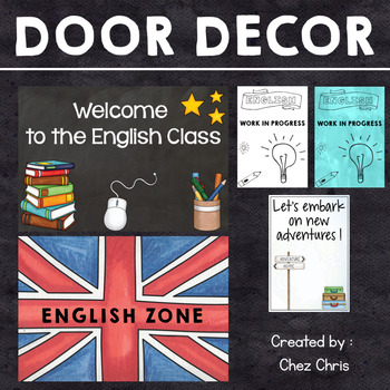 Door Decor - 14 Posters, A4 and A5 Versions