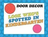 Door Decor Kindergarten Spots