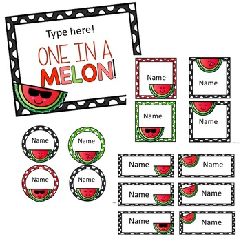 Door Decor: One in a Melon