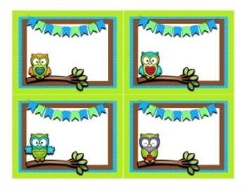 Door Decor ~ Owl themed