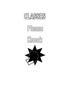 Door Decor: Please Knock