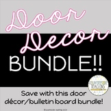 Door Decoration GROWING Bundle - Buy and SAVE!