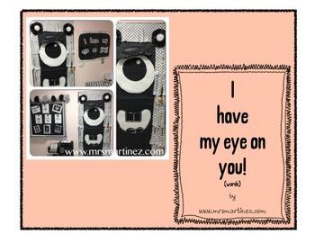 Door Decoration Idea: I have my eye on you!
