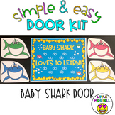 Door Decoration Kit: Baby Shark